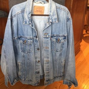 Authentic vintage Levi men's denim jacket.